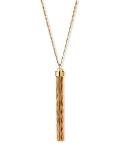 Tassel Necklace, Gold
