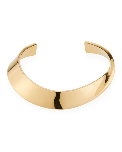 Collar Necklace  Gold