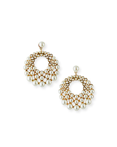 Prianna Hoop-Drop Earrings