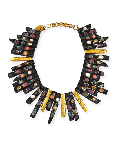 Fimbo Statement Necklace