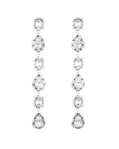 Jodes Crystal Dangle Earrings