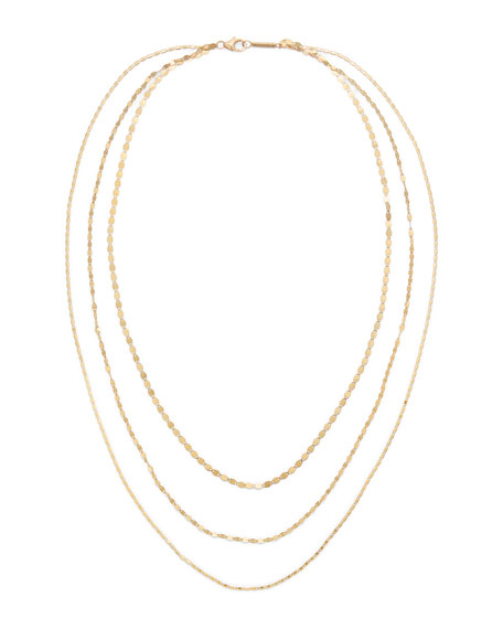 14k Multi-Chain Siena Necklace