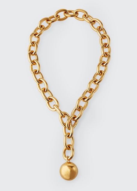 Short Pendant Chain Necklace