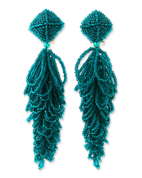 Image 1 of 1: Lulu Seed Bead Earrings