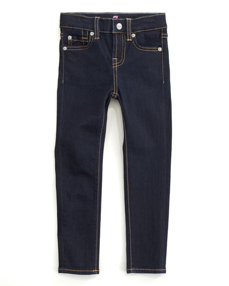 Skinny Rinse Jeans, Sizes 2T-4T