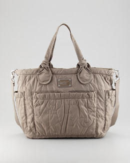 MARC by Marc Jacobs Pretty Eliza Baby Bag, Gray