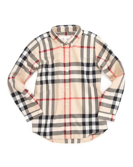 Mini Fred New Classic Check Shirt