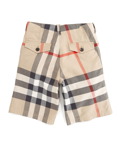Exploded Check Shorts