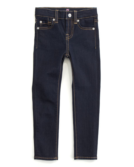 Skinny Rinse Jeans, Sizes 8-10