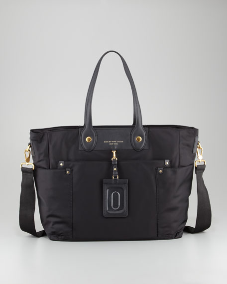 marc by marc jacobs preppy nylon eliz a baby diaper bag black. Black Bedroom Furniture Sets. Home Design Ideas