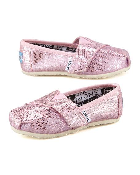 Pink Glitter Shoe, Tiny