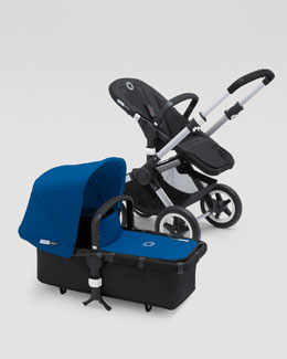Bugaboo Buffalo Tailored Fabric Set, Blue