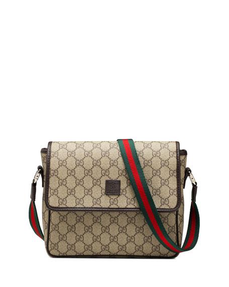 a3a4f4a13ee Gucci Girls  GG Supreme Messenger Bag