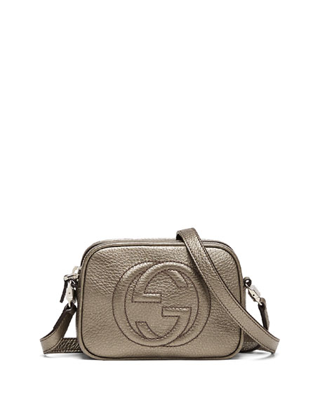 1264bc17993a Gucci Girls' Soho Leather Messenger Bag, Sasso