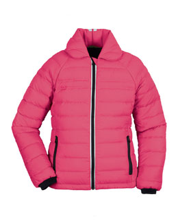 Youth Charlotte Quilted Jacket, Arctic Dusk, XS-XL