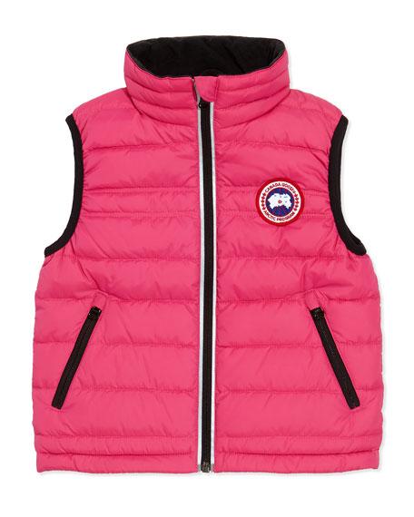 Bobcat Puffer Vest, Summit Pink, Girls' Sizes 2-7