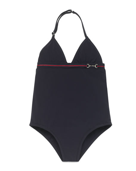 1d5e175c29 Gucci Banded One-Piece Swimsuit