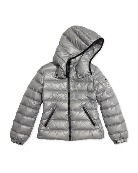 9237525930c0 Moncler Bady Contrast-Trim Quilted Down Coat