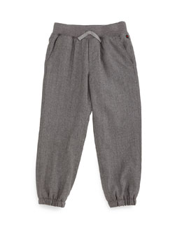 Suiting Track Pants, Gray, Size 9-36 Months