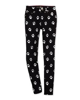 broome skinny street jeans, black, size 7-14