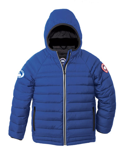 Sherwood Hooded Puffer Jacket  Royal Blue  Size XS (6-7)-XL(12-14)