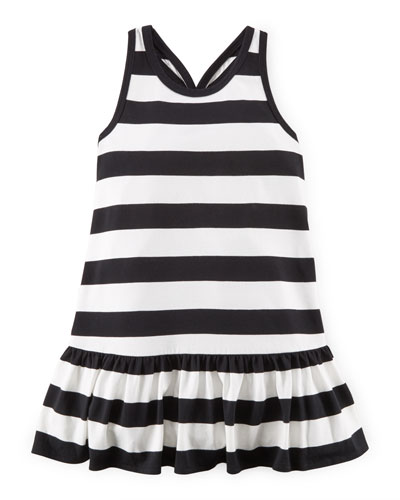 Sleeveless Striped Racerback Dress, Nevis, Size 2-6X