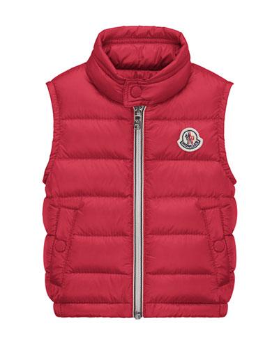 Amaury Down Puffer Vest, Size 12M-3