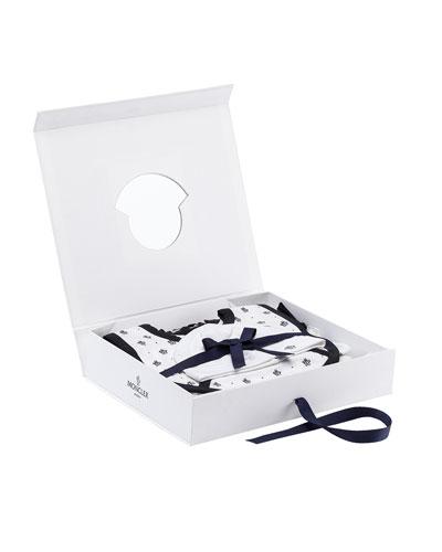 Star Shortall Gift Set, White, Size 0-9 Months