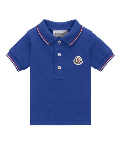 Maglia Tipped Pique Polo Shirt, Size 4-6