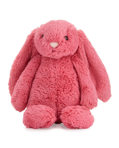 Jellycat Medium Bashful Bunny Stuffed Animal, Pink