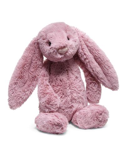 Medium Bashful Bunny Stuffed Animal, Tulip Pink