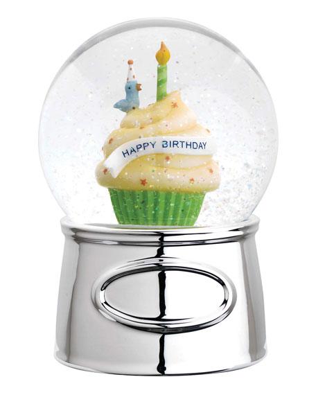 Reed & Barton Happy Birthday Waterglobe