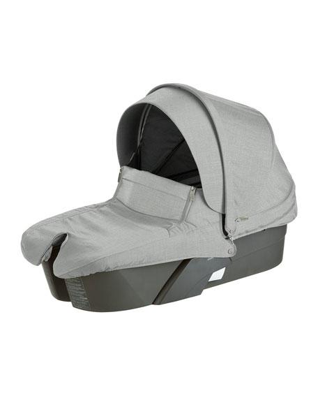 Xplory® Carry Cot, Gray Melange