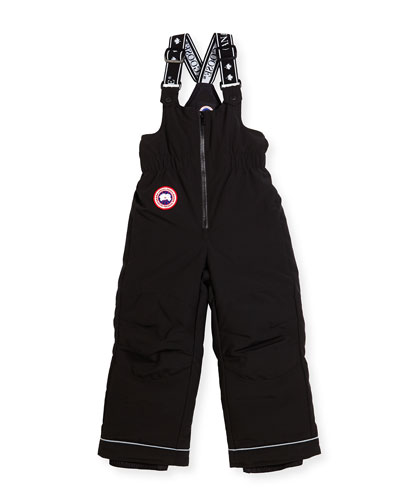 Thunder Waterproof Winter Pants, Black, Size 2-7