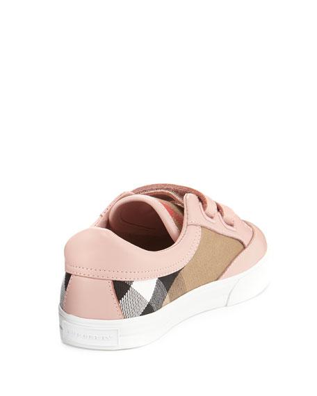 c145e464236f6 Burberry Heacham Check Canvas Sneaker