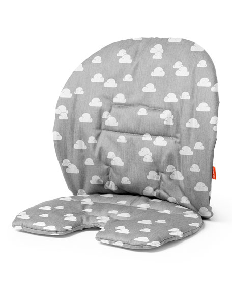 Steps™ Seat Cushion, Gray Clouds