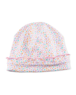 Darling Dachshunds Pima Baby Hat, Pink