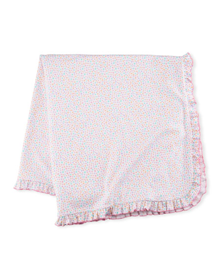 Kissy Kissy Darling Dachshunds Pima Blanket, Pink