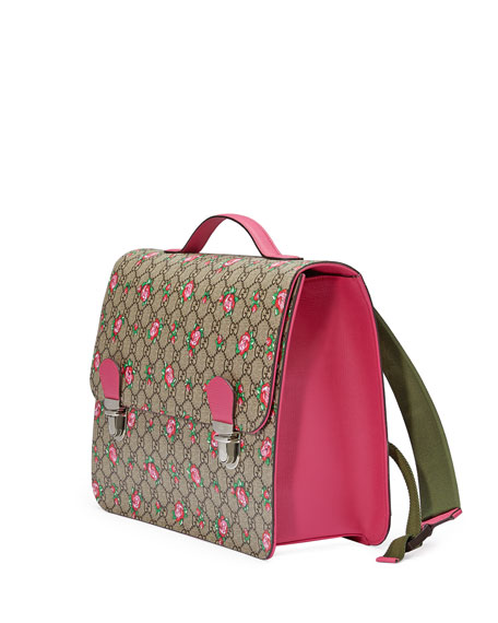 Girls' GG Supreme Rosebud Backpack
