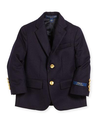 Lessona Wool Blazer, Size 5-7