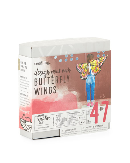 Design Your Own Butterfly Wings Kit, Ages 4-7