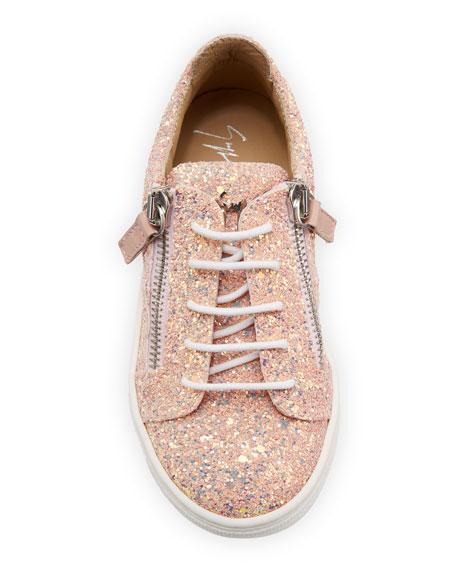 Mattaglitt Glitter Low-Top Sneakers, Toddler