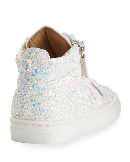 Mattglitt Top Baby Glitter Sneakers High Hitop CxrdoBe