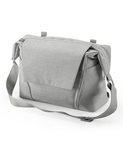 Changing Bag  Grey Melange