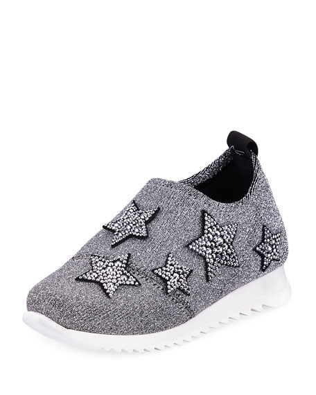 Natalie Sparkle Star Sneaker, Infant/Toddler