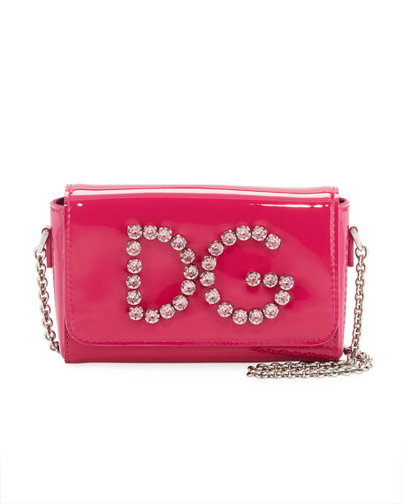 Girls' DG Rhinestone Shoulder Bag
