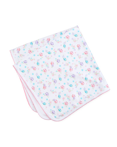 What A Hoot Pima Baby Blanket