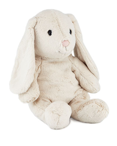 Large Hoppie Rabbit, Light Grey