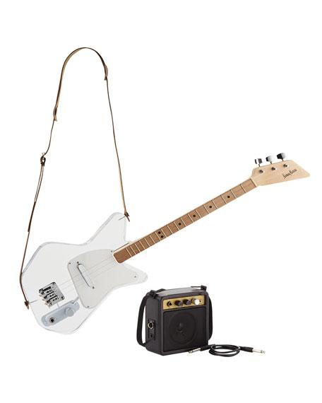 Loog Pro Acrylic Electric Guitar