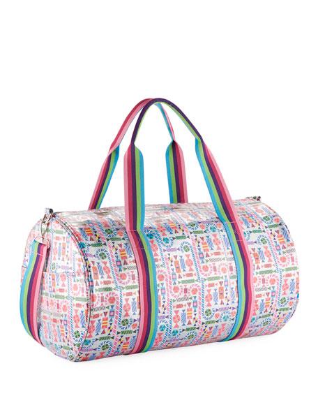 c61ef6afee Bari Lynn Girls  Candy-Print Shimmer Duffel Bag